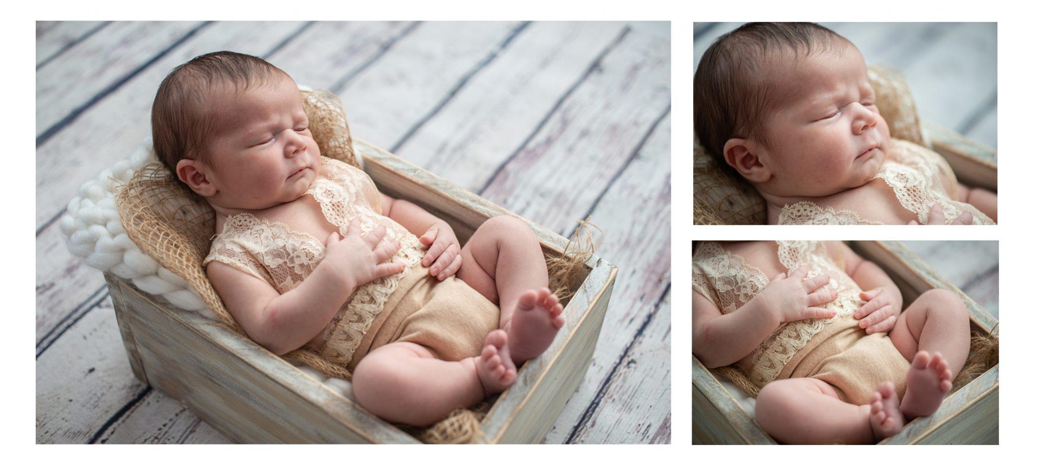 Garnaud Peggy photographe photo de naissance nouveau né en studio Lyon Grenoble Annecy Chambéry Genève